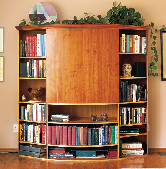 Home Theatre Bookcase