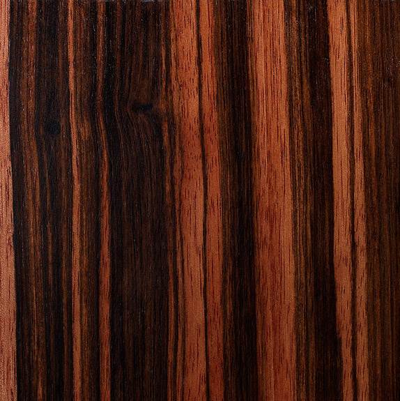 Custom Furniture Veneer Sample 15 - Macassar Ebony