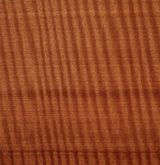 Custom Furniture Veneer Sample 26 - Fiddle Back Makore